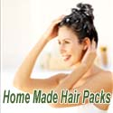home made hair packs